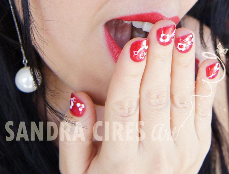 Nail-Art-Rojo